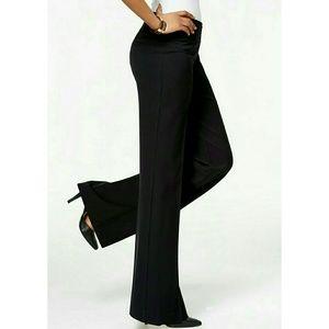 Talbots Black Wide Leg Dress Pants